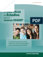 eBook Official EXADEP Test Study Guide