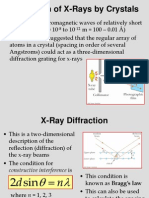 Diffraction of X ryas