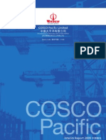 COSCO Pacific Limited 中遠太平洋有限公司