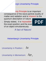 Heisenberg Uncertainity Principle