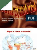 Clima Ecuatorial