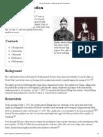 Manchu Restoration