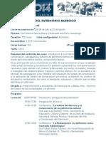 Curso Olavide Conservación Del Patrimonio Barroco