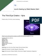 The Third Eye Chakra – Ajna _ Aware Awakening