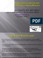 Exercise and Muscle Strengthening in Aging