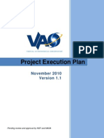 Virtual Astronomical Observatory Project Execution Plan v1.1