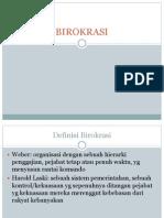 BIROKRASI