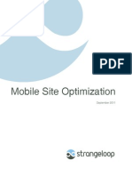 Whitepaper Mobile Site Optimization
