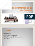Produse Cosmetice Si de Parfumerie