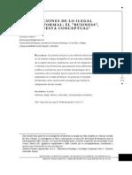 2013 DICIEMBRE - Complicaciones de Lo Ilegal y de Lo Informal