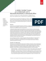 Folheto_Acrobat X_ Integração Com Microsoft-SharePoint_Office