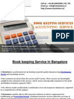Accounting Services in Bangalore - S3solutions
