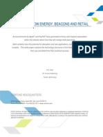 Bluetooth Low Energy Beacons Retail Wp