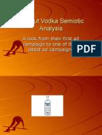 Absolut Vodka Semiotic Analysis