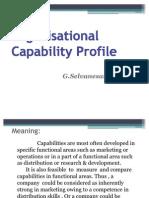 46155586 Organisational Capability Profile