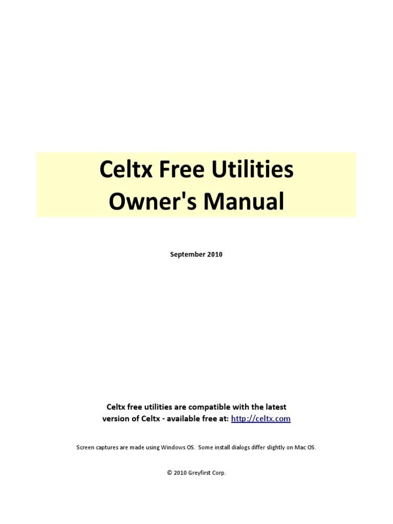 Celtx Utilities Installation & Usage Guide | Digital & Social Media