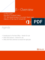 0 -Office 365 - Overview of the New Office 365 Final