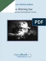Kolker - An Altering Eye - Contemporary International Cinema