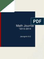 jeongmin h 6-2 math journal