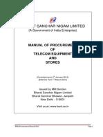 BSNL PROC_MANUAL_2012_24012013