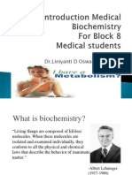 IT 04 Introductory Biochemistry