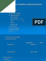 Format Laporan Praktikum Radiologi Dental