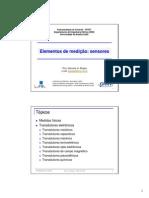 Elementos de Medicao Sensores