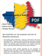 The Banking System of Romania