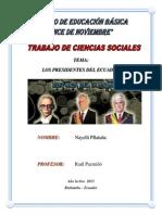 PRESIDENTES CONSTITUCIONALES DEL ECUADOR.docx