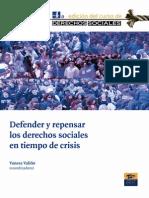 Defender Repensar Derechos Sociales Lib DESC AAVV Sp 1