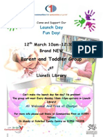 Llanelli Library Parent and Toddler May 2014- Launch (1)