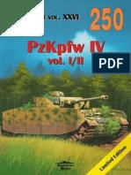 (Wydawnictwo Militaria No.250) PzKpfw IV, Vol. I/II