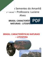 Brasil Caracteristicas Naturais Litosfera