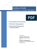 Workforce Profile Montgomery County, Maryland