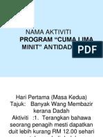 Program Antidadah 5 Minit