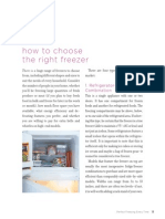 How to Choose the Right Freezer