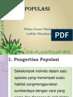 Populasi Mima Lulu