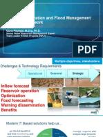 Real Time Decision Support System in Reserrvoir and Flood Management System Framework