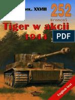 (Wydawnictwo Militaria No.252) Tiger w Akcji 1944