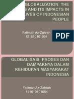 Globalisasi; Sejarah dan Dampaknya dalam Kehidupan Masyarakat Indonesia