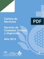 Cartera Servicios Del SCCU 2013
