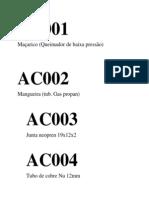 AC001 catalogaçao