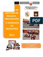 75579239 Plan Escolar de Gestion de Riesgo de La IE 43018 2011
