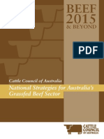 Beef 2015 and Beyond