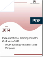 India Vocational Training Industry Outlook to 2018