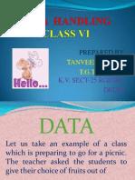 Tanveer Data Handling