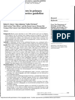 Baseline Staging Tests in Primary Breast Cancer a Practice Guideline