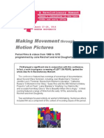 Making Movement through Motion Pictures