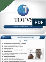 Treinamento Fórmula Visual