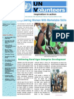 UNV Zambia Newsletter January - March 2014